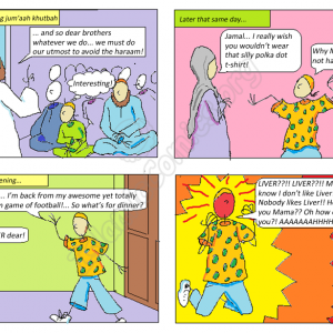 Life with the Ahmad Family Comics - That's Not Haram!