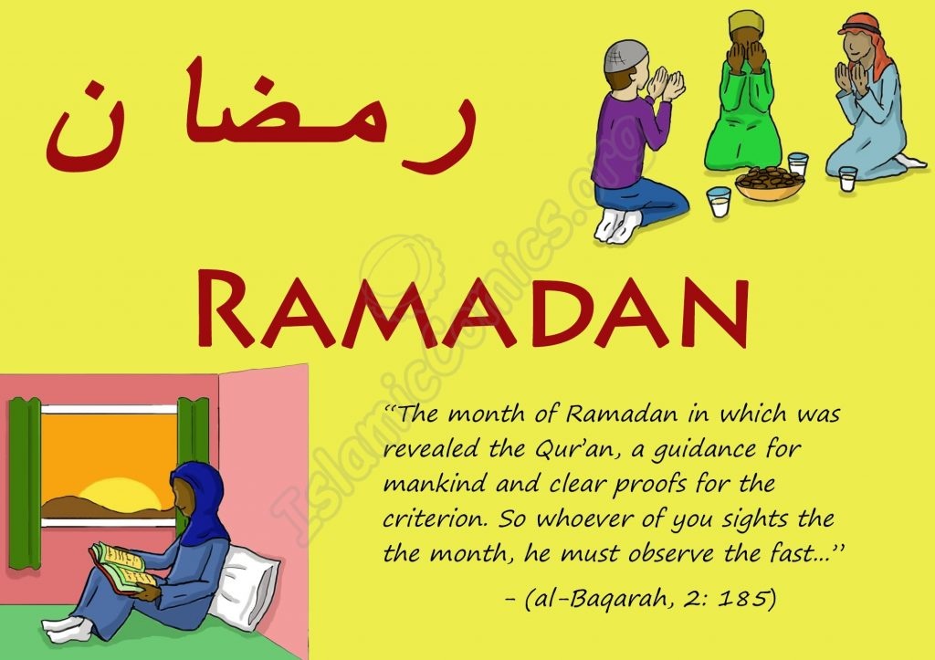 Ramadan - the month of Qur'an and fasting!