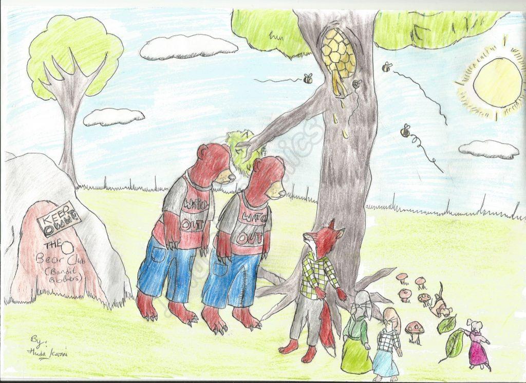 Children's Illustrations - Foxes, Rabbits, Bears