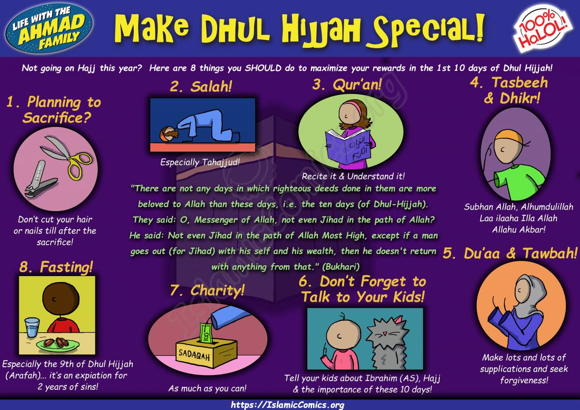 Make Dhul Hijjah Special! (IslamicComics.org)