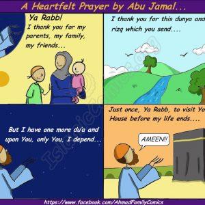 Ahmad Family Comics - A Heartfelt Prayer
