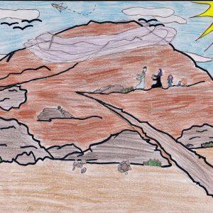 The Pilgrims on the Plains of Arafat on the 9th of Dhul Hijjah - Islamic Comics