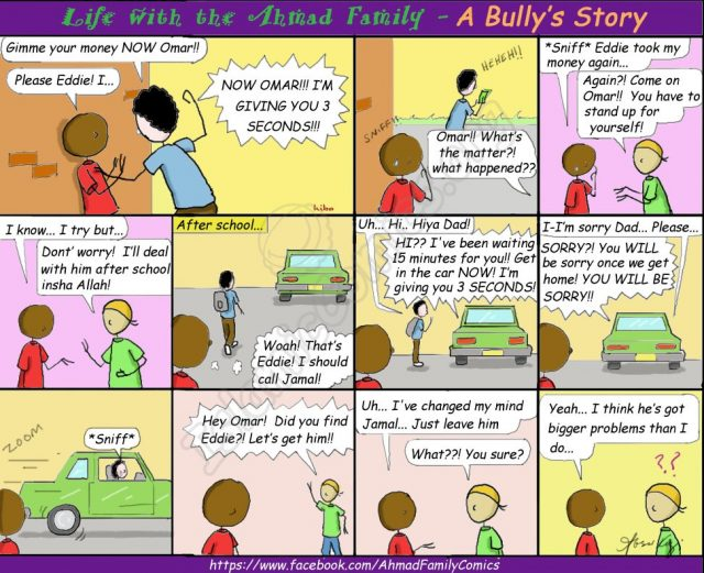 Islamic Comic reminding us to understand a person's situation