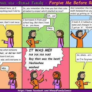 Forgive Me Before Ramadan - Life with the Ahmad Family (Islamic Comics)