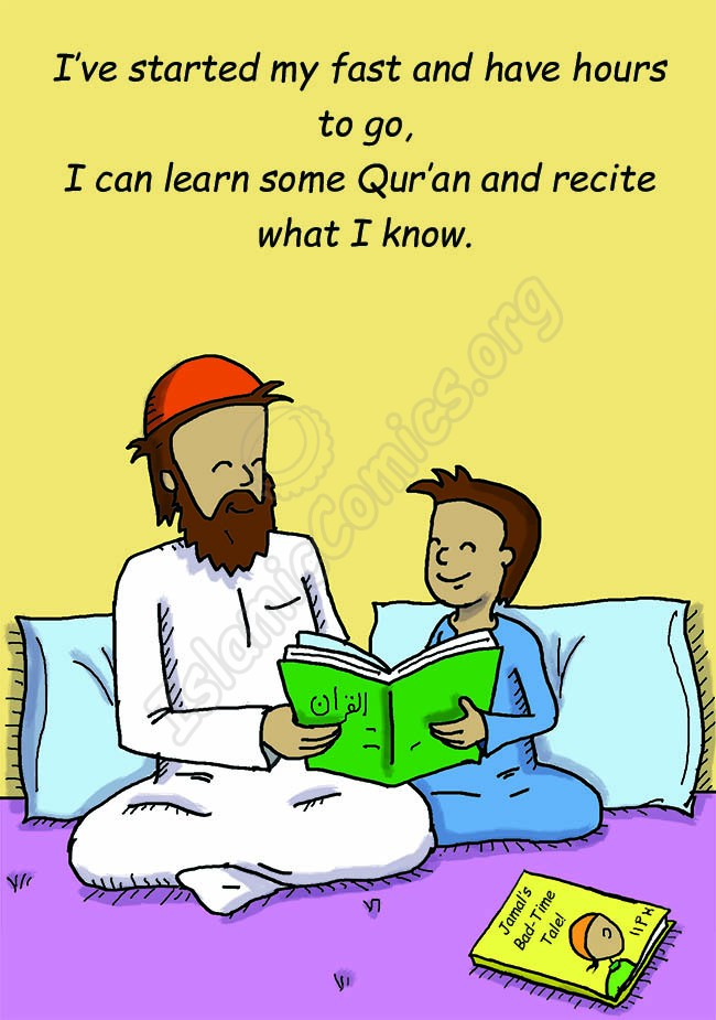Ramadan is the month of the Qur'an! (Islamic Illustrations)