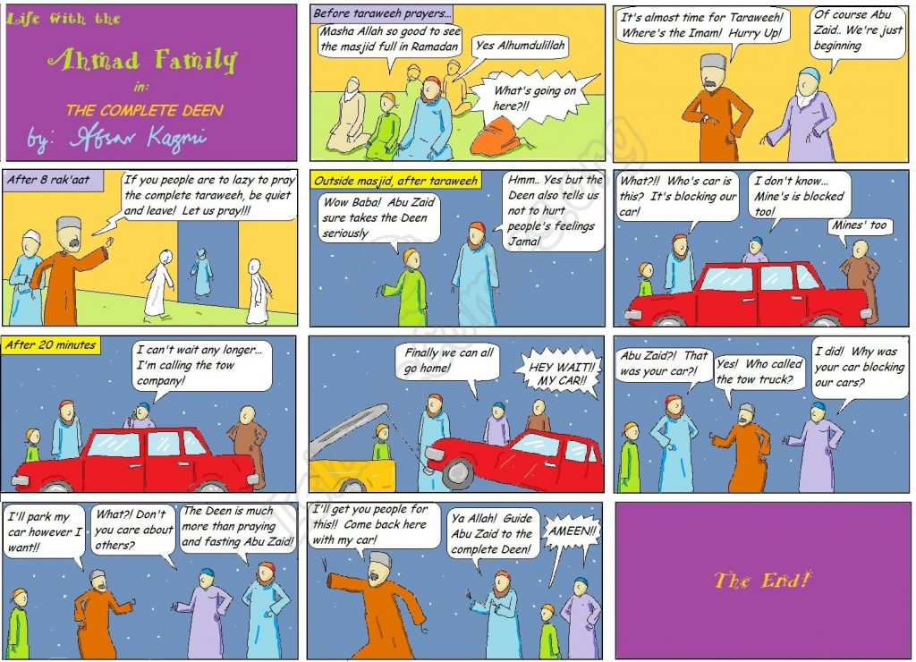 The Complete Deen - Life with the Ahmad Family Comic