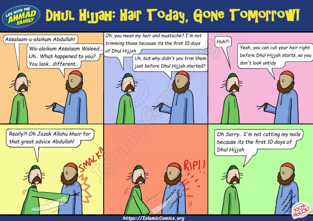 Dhul Hijjah - Hair Today, Gone Tomorrow (Islamic Comic)