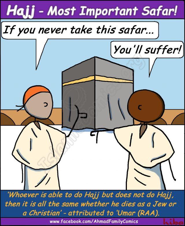 Hajj - The Most Important Safar (Ahmad Family Comic)