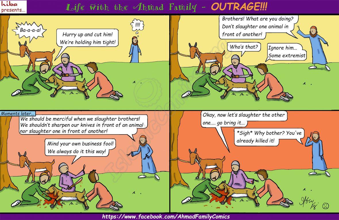 Life with the Ahmad Family Comics - You Killed it Twice!