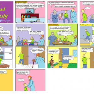 Jamal's Ramadan Deed - Ahmad Family Islamic Comics
