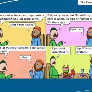 Ramadan Mystery - Life with the Ahmad Family (Islamic Comic)