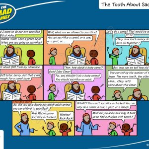 The Tooth About Sacrifice - Ahmad Family Islamic Comic