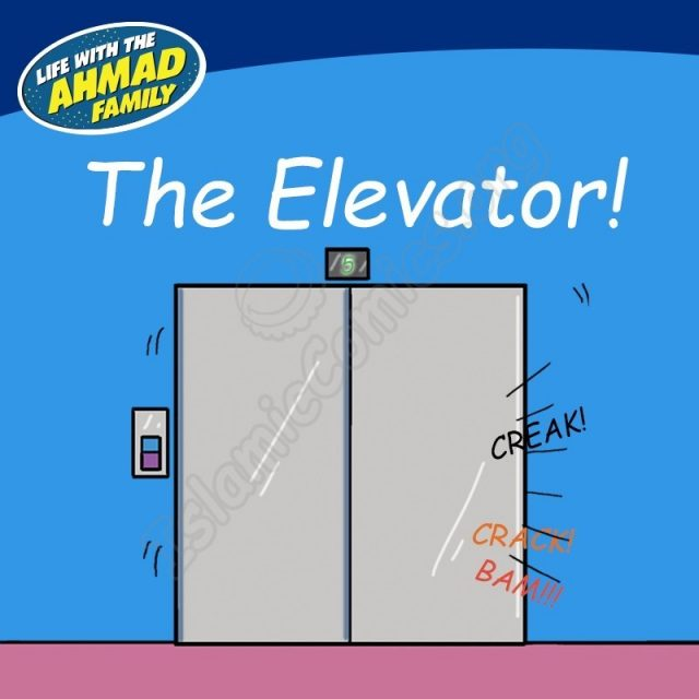 The Elevator - Ahmad Family Comic (Islamic Comic)