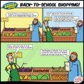Back to School Shopping - Islamic Comics