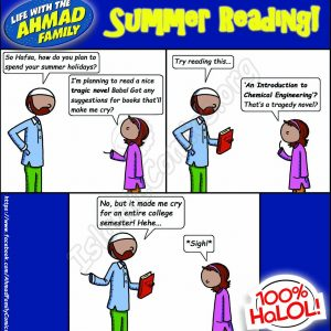 Summer Reading - Ahmad Family Islamic Comics