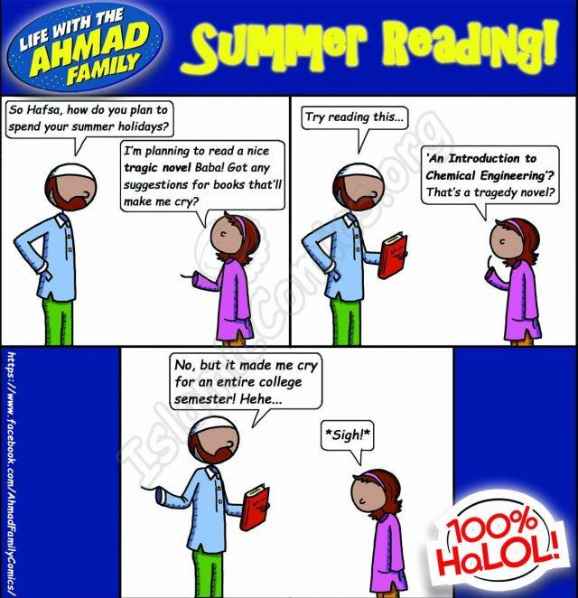 Summer Reading - Ahmad Family Islamic Comics