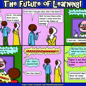 The Future of Learning - Ahmad Family Comics