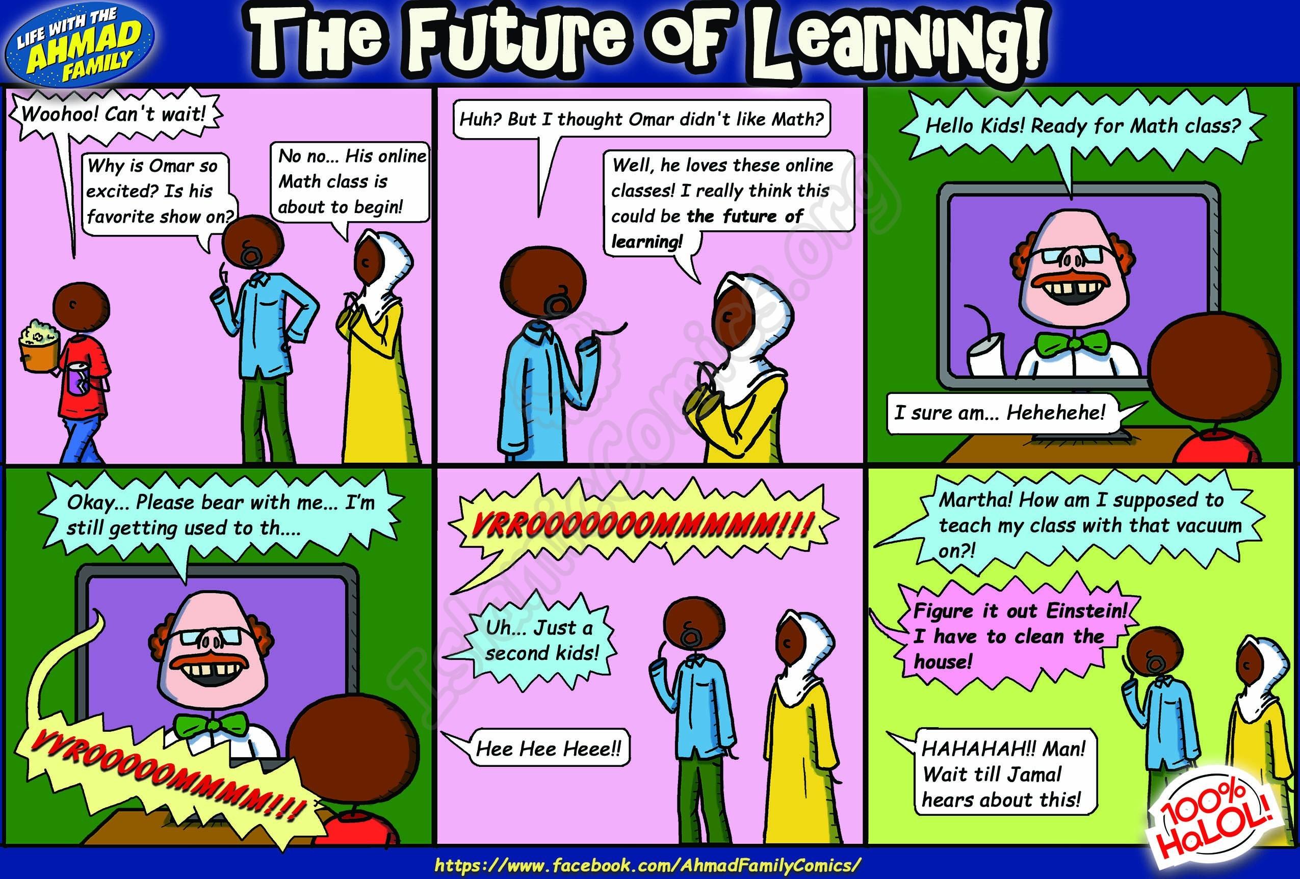 The Future of Learning - Ahmad Family Comics
