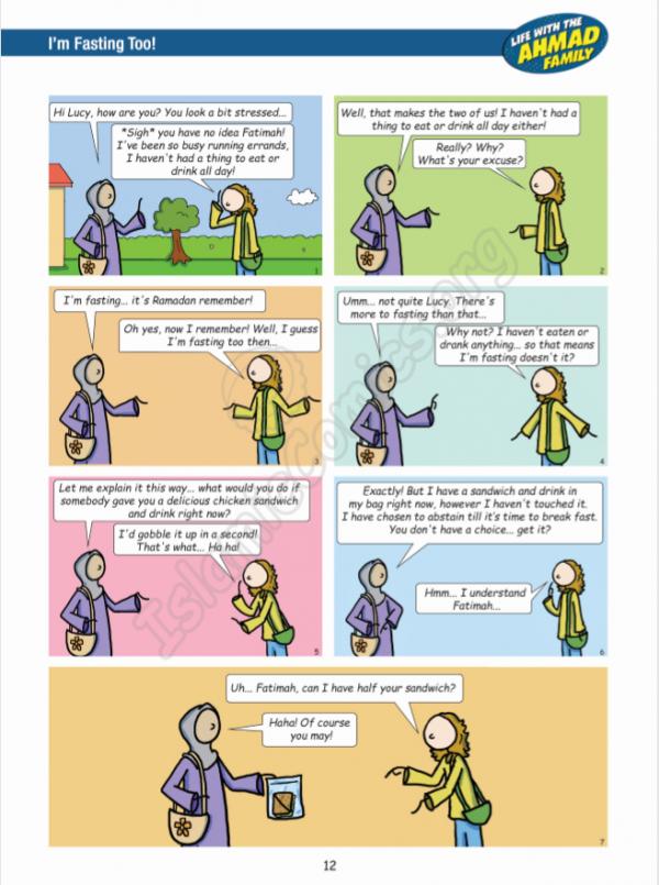 Life with the Ahmad Family Comic Sample 2