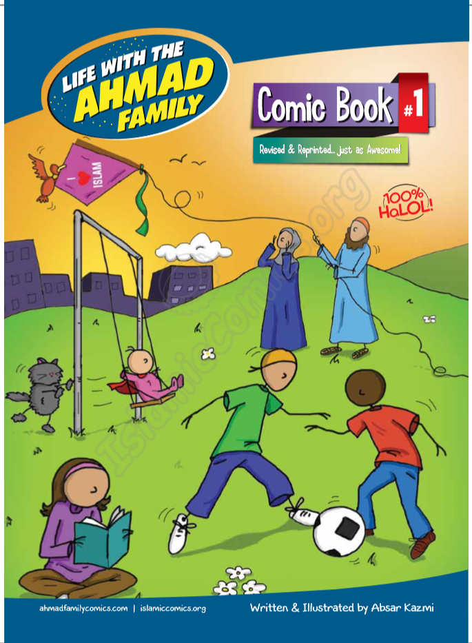Life with the Ahmad Family Comic Book #1