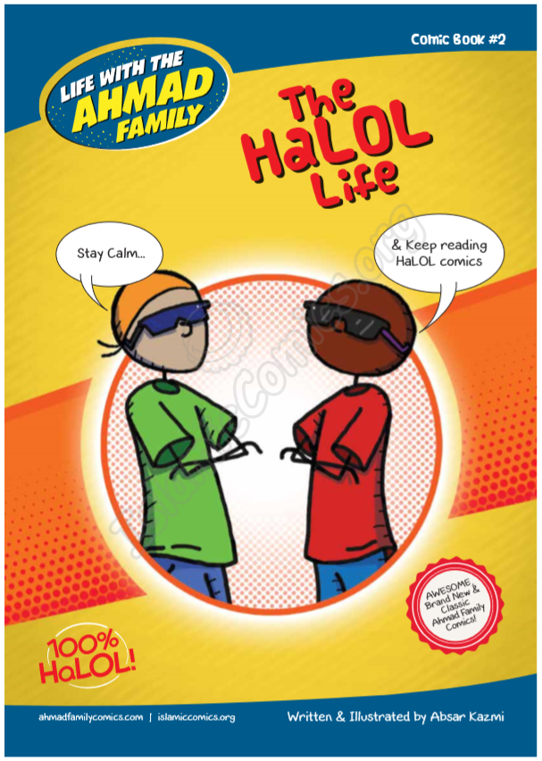 Life with the Ahmad Family Comic Book #2 - HaLOL Life