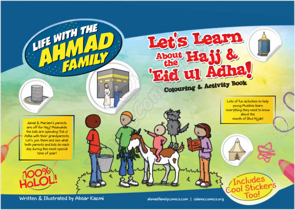 Let's Learn About Hajj & Eid ul Adha - Coloring & Activity Ebook