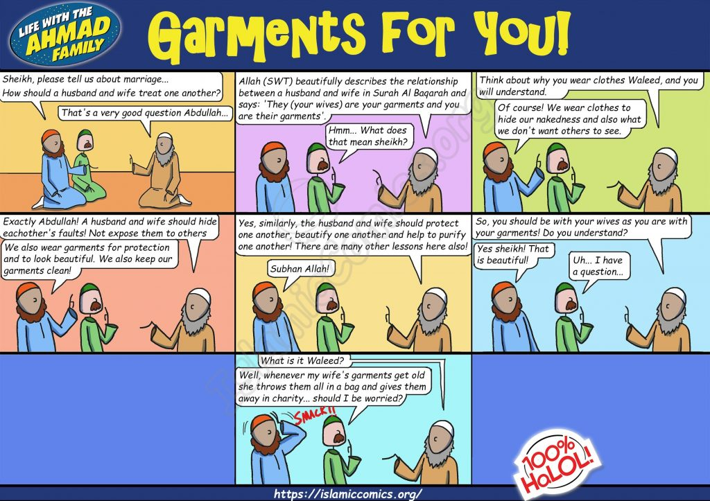 Garments for You - Ahmad Family Comic