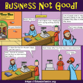 Ahmad Family Comic - Business Not Good
