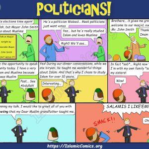 Ahmad Family Comics - Politics