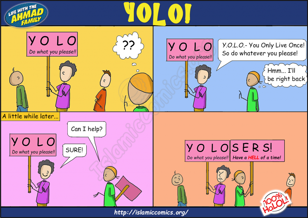 Ahmad-Family Comic - YOLO