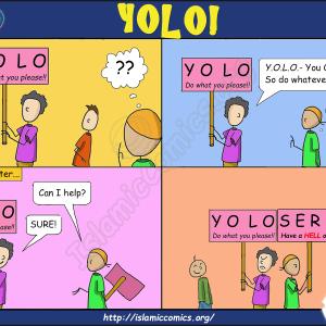 Ahmad-Family Comic - YOLO