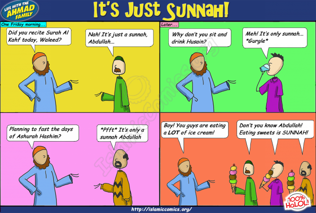 It's Only Sunnah - Ahmad Family Comic