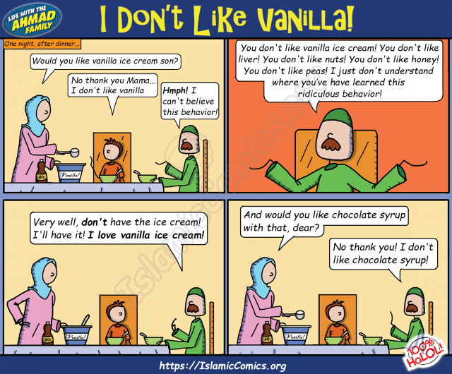 Ahmad Family - I Don't Like Vanilla!