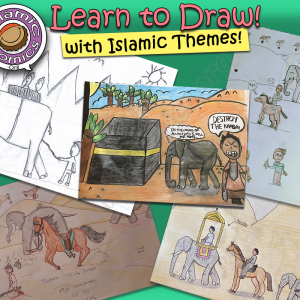 Learn to Draw with Islamic Themes Collage