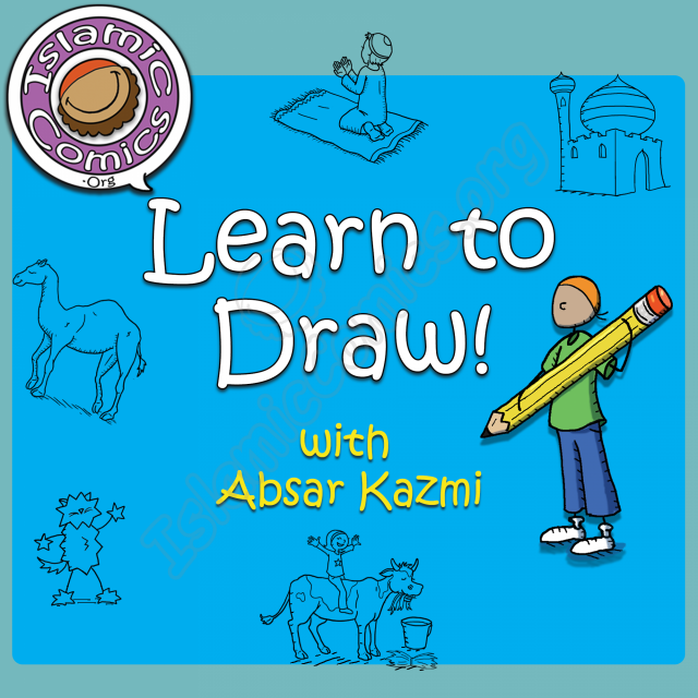 Learn to Draw with Absar Kazmi - Illustration Course